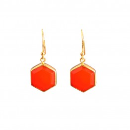 Myrtille Carnelian Gold-plated