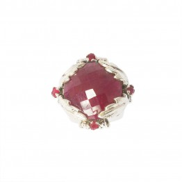 Cécile Ruby Ring