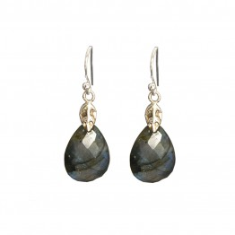 Elena Labradorite Earrings