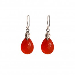 Elena Carnelian Earrings