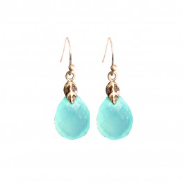 Elena Aqua-calcite Earrings