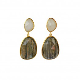 Doble Drop Cameron Earrings
