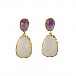 Doble Drop Carole Earrings