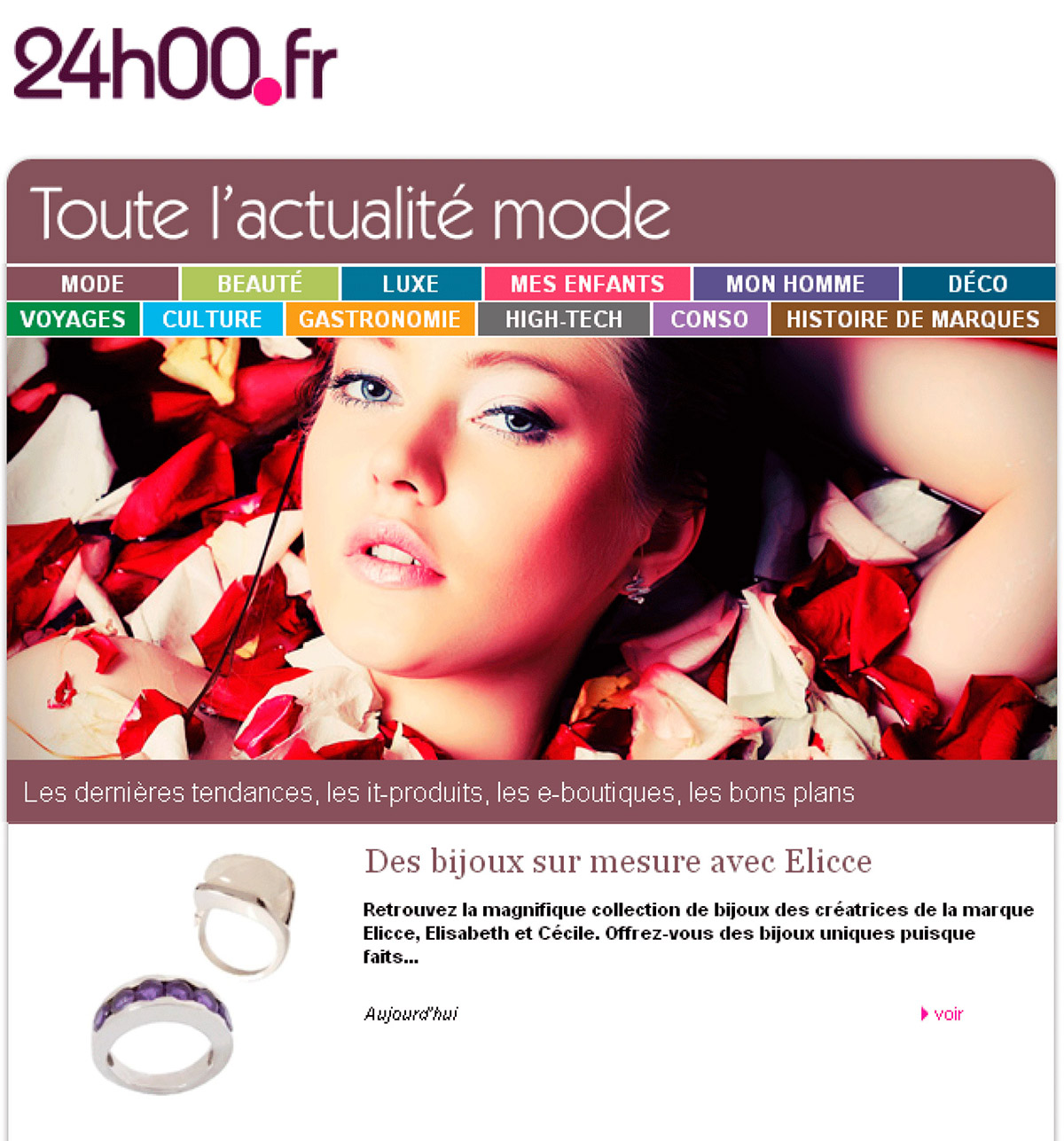 Press Online Jewels Elicce Lip Icce Article Sue Les Bijoux Dans 24h00fr