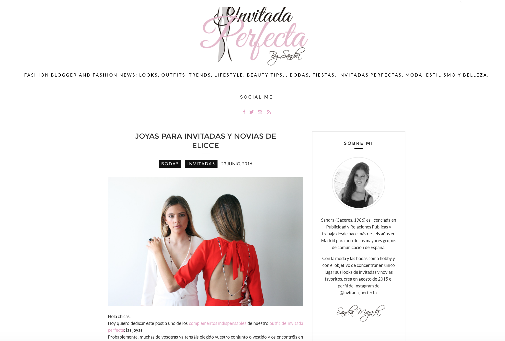 Blog la invitada perfecta